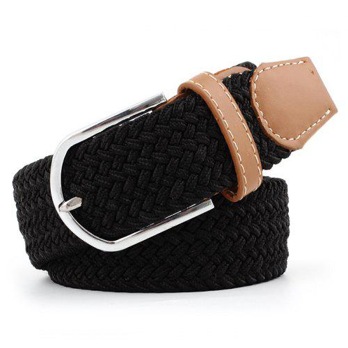 Men Women Casual Waist Belt Waistband Plain Webbing Canvas Belt Strap Belts SG