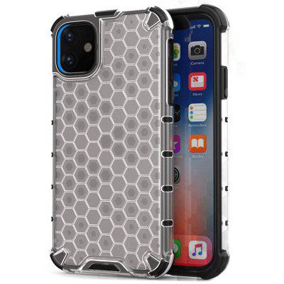 Honeycomb Anti-fall Phone Case voor iPhone 11 Pro Max 1PC