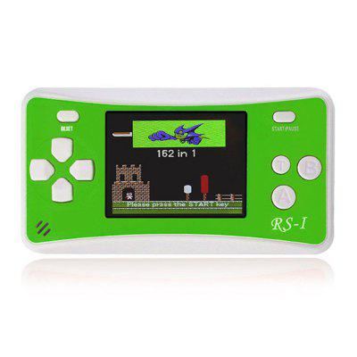 Portable 2.5-inch LCD Screen Handheld Game Console With Built-in 76 Games For Kids
