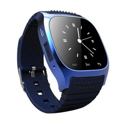 Waterproof Daily Smartwatch M26 Bluetooth Smart Watch Waterproof 1.5 inch LED Display for Android Phones