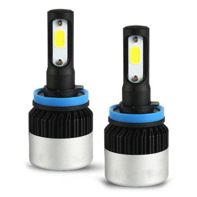 S2-H11 Mini LED Car Headlight Bulbs High Brightness Headlamp For Car Use