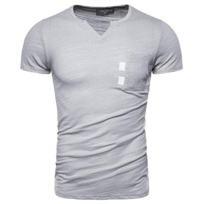 Cotton Summer Mannen met korte mouwen T-shirt