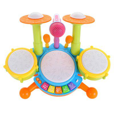 Electronic Drums vroege jeugd educatief Musical Toy Drums Electric Lighting
