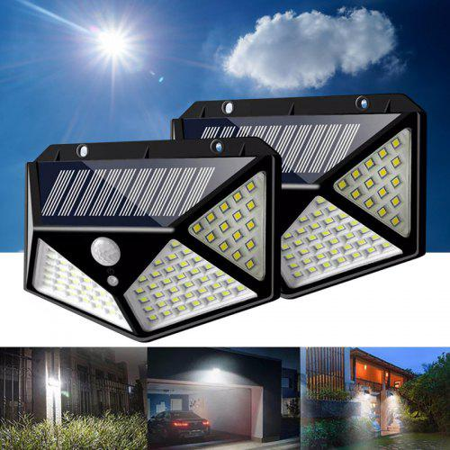 Sound Control Induction Lamp Solar Powered Light Waterproof 16 LEDs Wall Lamp SY
