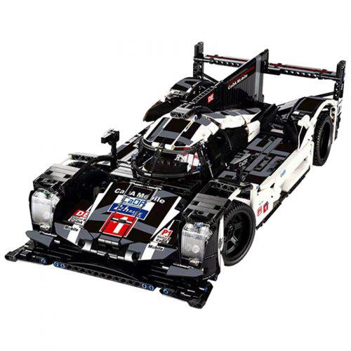 CaDA C61016 1586pcs 919 Endurance Racing Car Building Blocks Puzzle Assembled Model Toy Sports Car