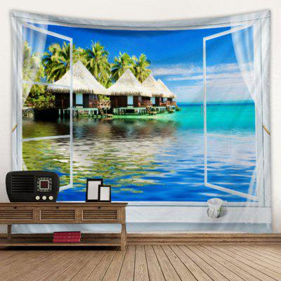 Creative Home Living Room Bedroom Decoration Hanging Tapestry Beach Cushion Shooting Background Cloth