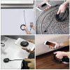 Durable 7MM 480P Type-C Detection 6 LED HD Endoscope Camera for Android - BLACK