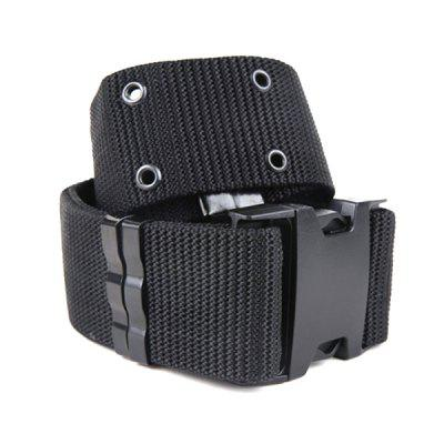 Men Canvas Nylon Cobra Buckle Belt Tactical Outdoor Militaire training Waistband
