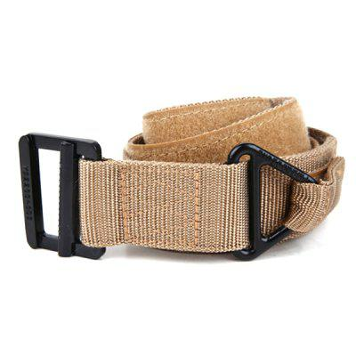 Men Canvas Belt Casual Nylon Tactical Outdoor Militaire training Waistband