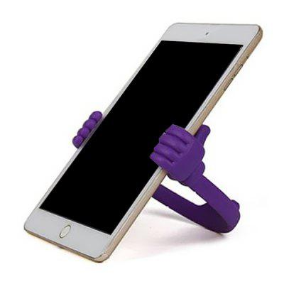 Durable Nice Portable Thumb Shape Phone Stand Desktop Holder for iPhone X