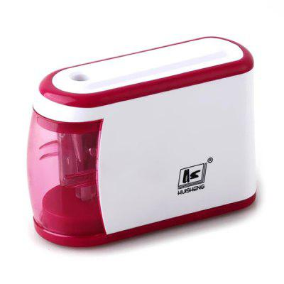 HS915 Electric Pencil Sharpener Student Stationery School Supply 2pcs