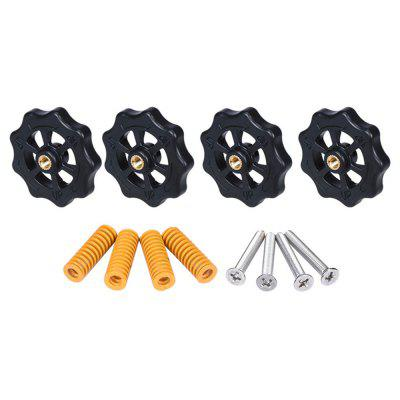 Hot Bed Manual vyrovnávanie Kit for Anet A8 ET4PRO ET5 Creality Ender 3