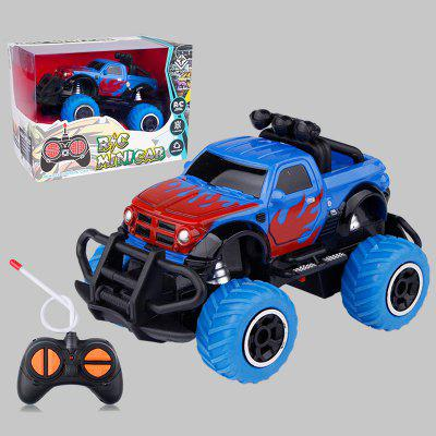 1:43 Four-way Mini Off-road Vehicle Graffiti Remote Control Car