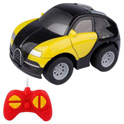 1:43 Mini Cute Four-way Remote Control Car