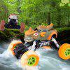 6149X 1:22 Large Four-wheel Drive Off-road Remote Control Monster Car - ORANGE