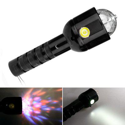 W510 Handheld Stage Magic Crystal Ball Lights LED Flashlight LED Flashlight Stage Light Party Light Gathering Light Bright Lights Holiday Lights
