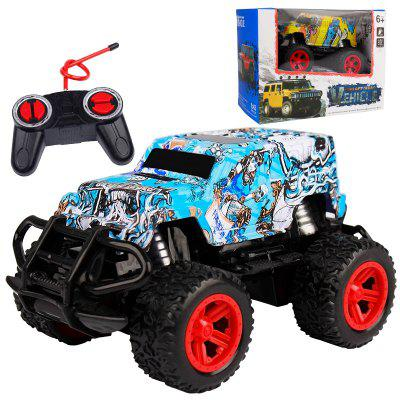 890-34A 1:43 Simulation Four-way Remote Control Off-road Vehicle Car