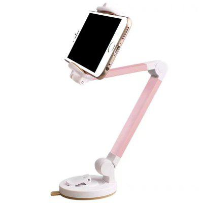 Nice 360-degree Long-Handle Folding Phone Holder Car Desktop Stand for Smart Phone and GPS