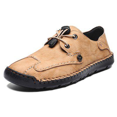 AILADUN Men Shoes Low-top Round Toe Casual obuv priedušné Ručné Big Yards