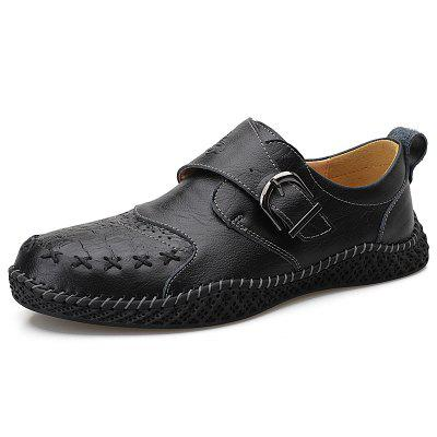 AILADUN Men Shoes Spring Low-top Casual Footwear Handmade Big Yards