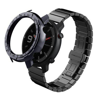Watch Protective Shell Plating Sleeve for Amazfit GTR 47 / 42mm PC Case
