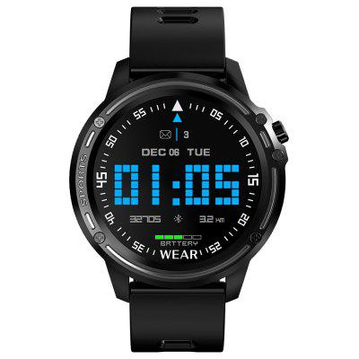 L8 Uomo Smart Watch IP68 Impermeabile Fitness Sportivo ECG Smartwatch PPG Frequenza Cardiaca Monitor a Pressione Sanguigna