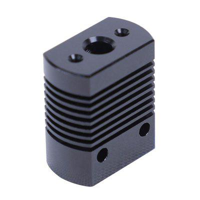 Extruder Heat Sink Block Hot-end accessory for Anet 3D Printer 2pcs