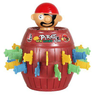 Children Pirate Bucket Toy Funny Spoofed Sword Game