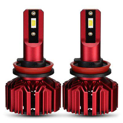 NovSight A500-N11-H11 LED Car Headlights Bulbs 60W 10000LM 6000K