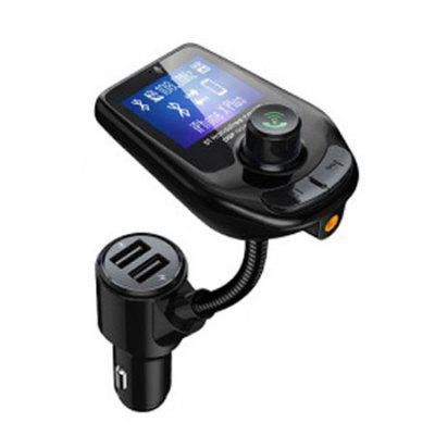 Dual USB QC3.0 Bluetooth 5.0 încărcător auto MP3 player Hands Free FM Bluetooth transmițător