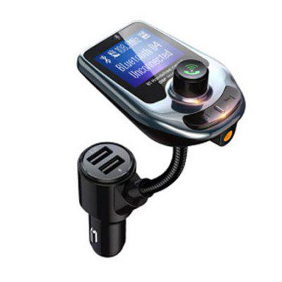 Dual USB QC3.0 Bluetooth 5.0 Car Charger MP3 Player Hands Free FM Bluetooth Transmitter