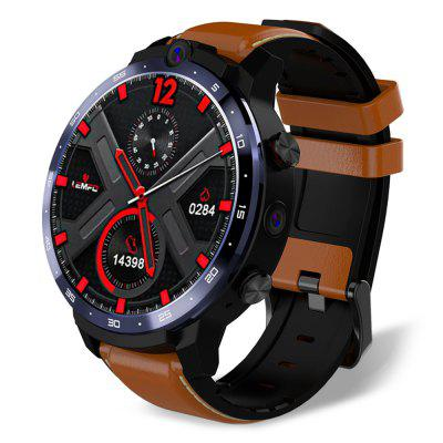 LEMFO LEM12 1,6 hüvelykes 4G LTE intelligens Watch Android 7.1 3GB RAM 32GB ROM Dual kamera Face ID Men Smartwatch