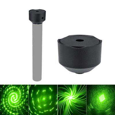 W306 303 Mini Laser Lamp Base Outdoor Atmosphere Lamp Holder Laser Flashlight Auto-Rotating Charging Head