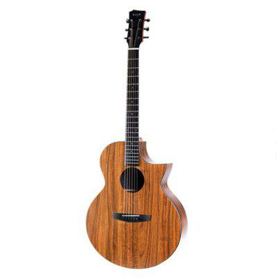 Enya EA-X1C 41 Inch Missing Angle Full Board Ukulele With Classical Head For Concert Tenor