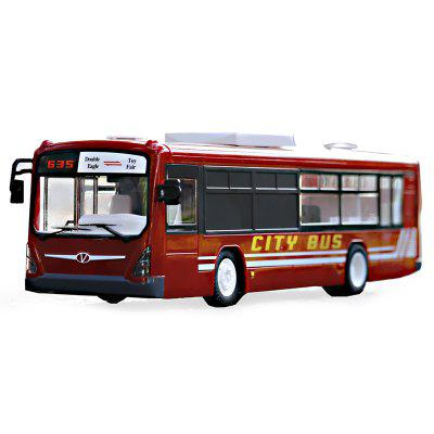 DOUBLEE E635 2.4G Remote Control Bus Toy Car Model Kids Toys with Speaker