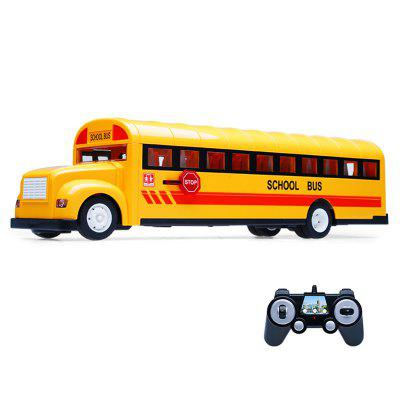 Double E E626 2.4GHz Wireless Remote Control School Bus speelgoed voor kinderen Children