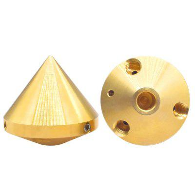 Stampante 3D 3 in 1 Out Ugello Ottone Estrusore Diamante Hotend 0,4mm 1,75mm Filamento Reprap Parti di Stampante 3D