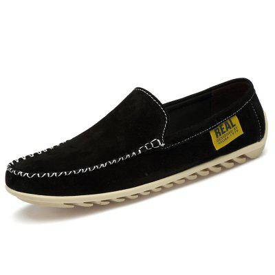 AILADUN Mens Casual Shoes Large Size Flat Shoe Male Slip On Doug Footwear