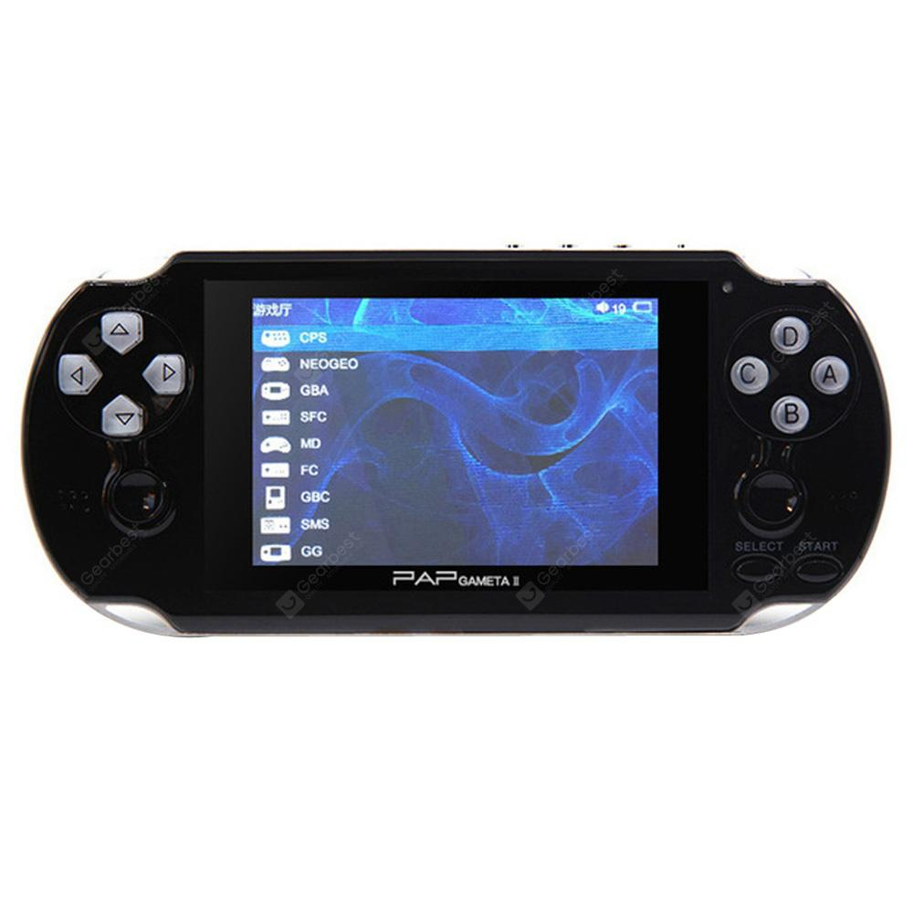 Durable Portable Nice 4.3-inch Handheld Game Console HD Classic Game Built-in 650