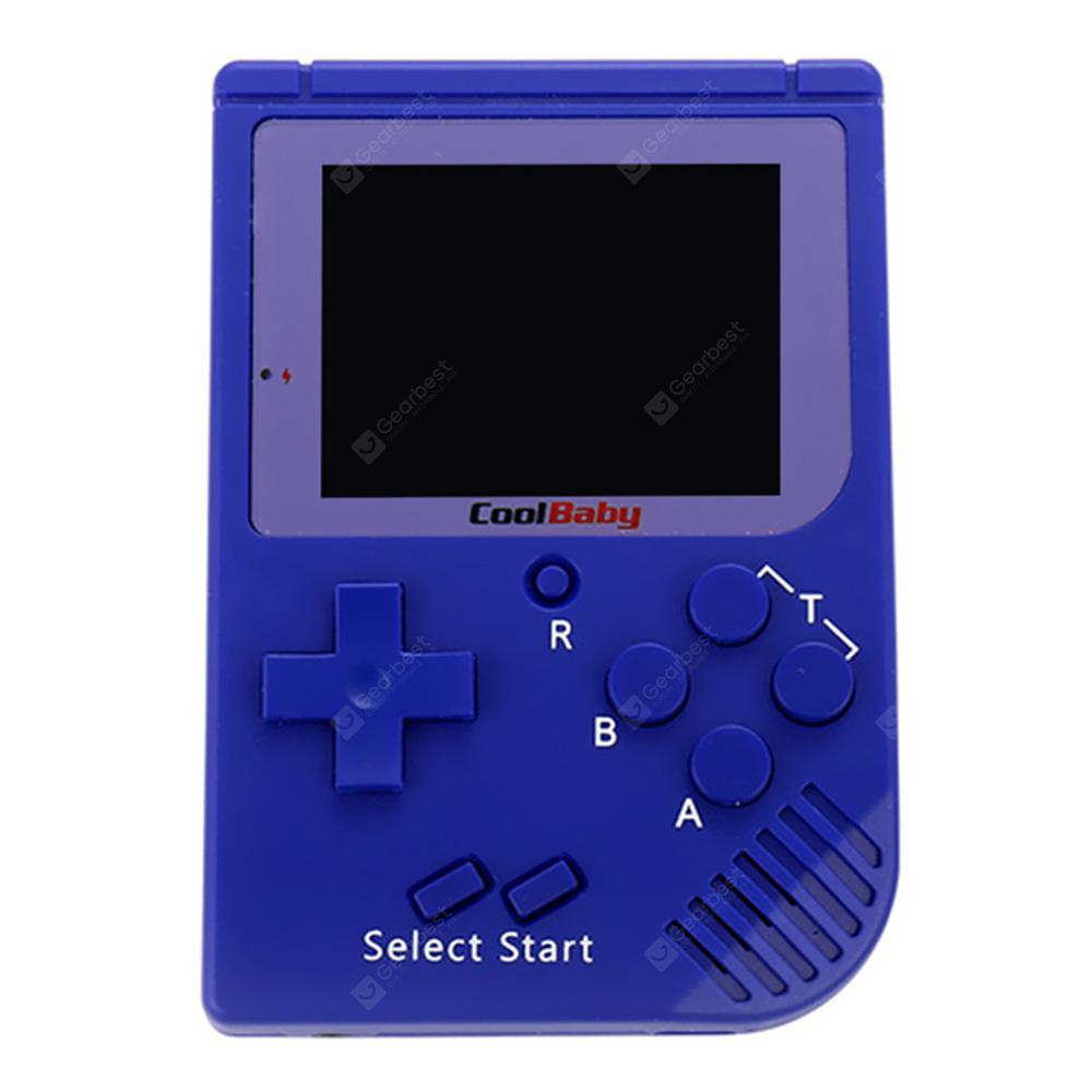 Durable Portable Nice Retro Mini Handheld Game Console 2.0 Inch LCD Color Built-in 129 Game