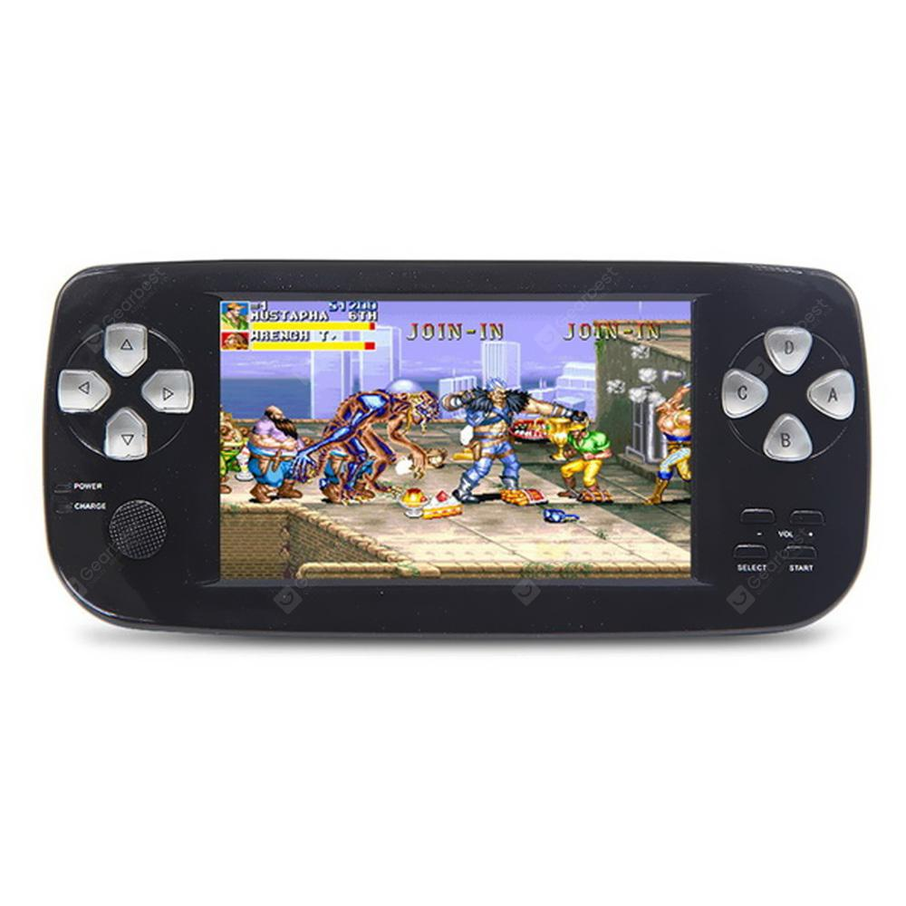 Durable Portable Nice PAP 4.3-INCH Handheld Game Console 64-BIT Built-In 650 Classic Game Support TV