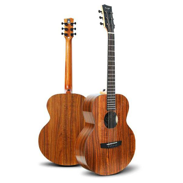 Enya EA-X1 / EQ 36 41 inch KOA-Patterned Acoustic Guitar HPL Wood Full Board Acoustic Musical Instruments
