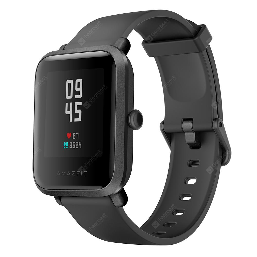 Amazfit Bip S Smart Watch 1.28 inch TFT Screen 40 Days Battery Life 5 ATM Waterproof 10 Sports Modes Dual GPS System Global Version