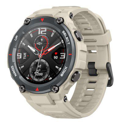 Amazfit T-Rex Outdoor Smart Watch 1.3 inch AMOLED Color Screen 20 Days Battery Life 5 ATM Waterproof 14 Sports Modes 12 Military Certifications Dual GPS System Global Version Image