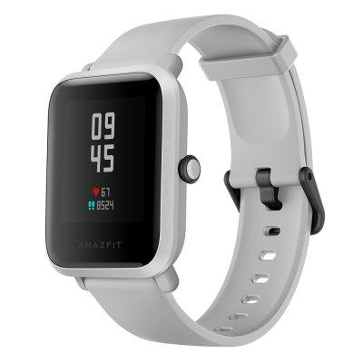 Amazfit Bip S Smart Watch 1.28 inch TFT Screen 40 Days Battery Life 5 ATM Waterproof 10 Sports Modes Dual GPS System Global Version -  White