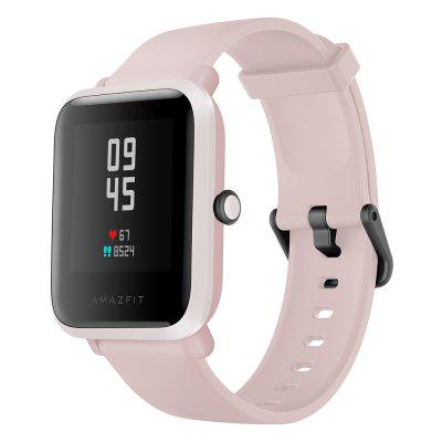 Amazfit Bip S Smart Watch 1.28 inch TFT Screen 40 Days Battery Life 5 ATM Waterproof 10 Sports Modes Dual GPS System Global Version -  Pink