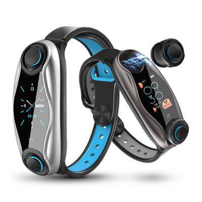 LEMFO LT04 T90 2 in 1 Braccialetto Intelligente Sportivo Bluetooth 5.0 Auricolari Wireless IP67 Impermeabile Orologio Sportivo Intelligente