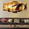 Dragon Totem Creative Modern Home Decorative Painting without Framed Prints 5pcs - MULTI-A