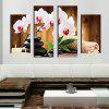 Butterfly Creative Modern Home Decorative Painting without Framed Prints 4pcs - MULTI-A