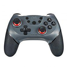 Անլար Gamepad Bluetooth Joystick Controller Console 6 Axis Games պարագաներ NS Switch Pro- ի համար